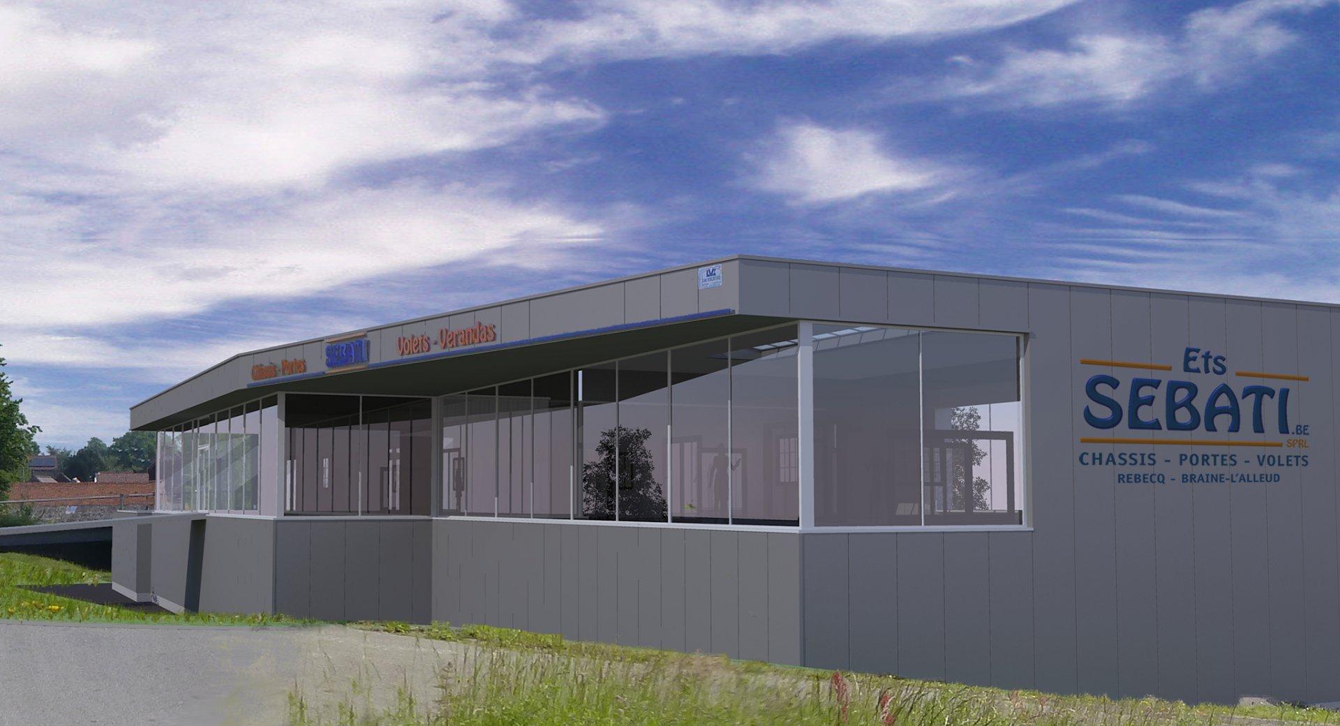 Extension bâtiment industriel Rebecq